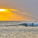 Surfing on the Outer banks