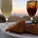 Seafood oceanfront dinning