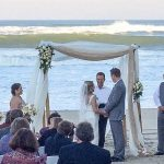 Tracy and Adam got married a the wedding venue of the Sea Ranch Resort, located in kill devil hills this wedding party enjoyed oceanfront accommodations on the outer banks, the sea ranch resort has a wonderful wedding venue for your outer banks beach wedding