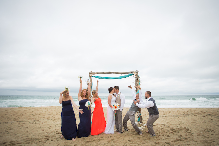 The Sea Ranch Resort has an amazing beach wedding venue this couple has truly loved, This couple had an obx wedding on the beach at the sea ranch resort, the sea ranch resort hosts your outer banks wedding with oceanfront accommodations
