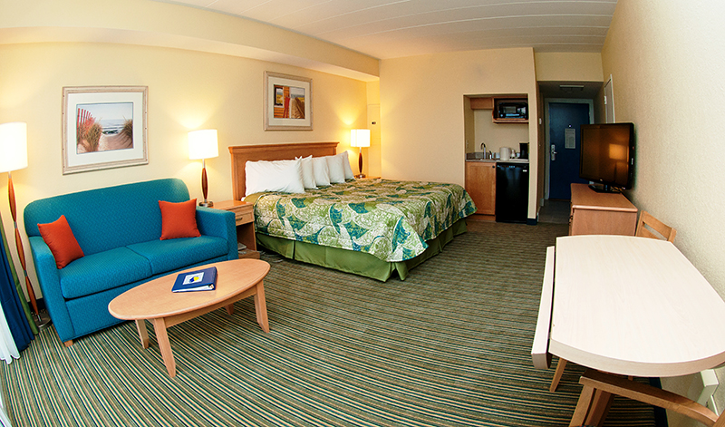 Oceanfront Guest Rooms