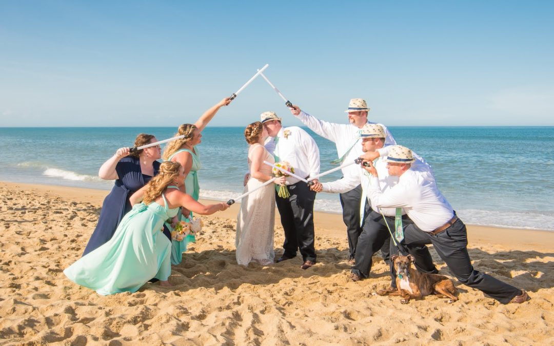 Outer Banks Wedding Ceremony OBX wedding venue
