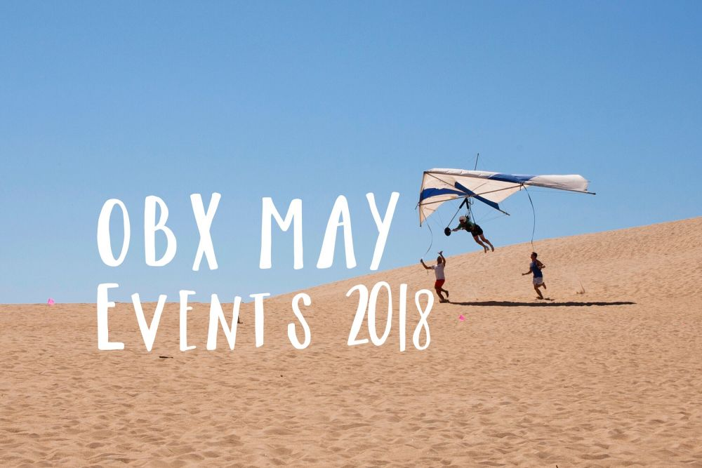 ATTEND AN OUTER BANKS EVENT IN MAY 2018!