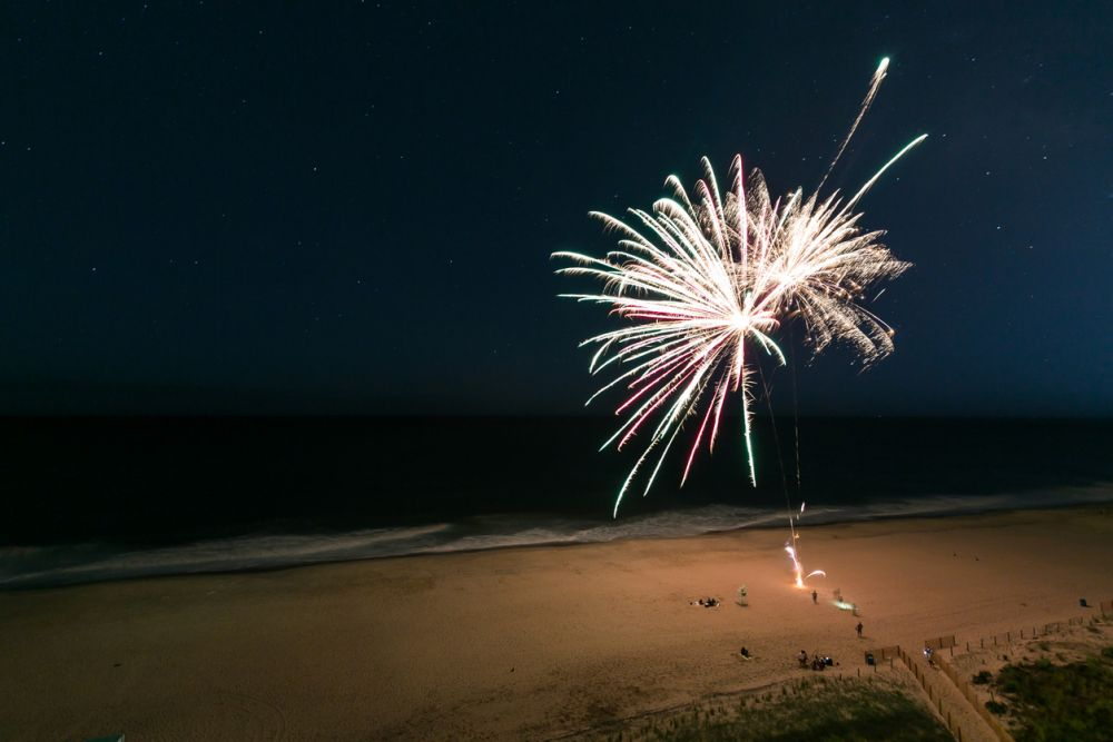 Outer Banks Fourth of July Fireworks
