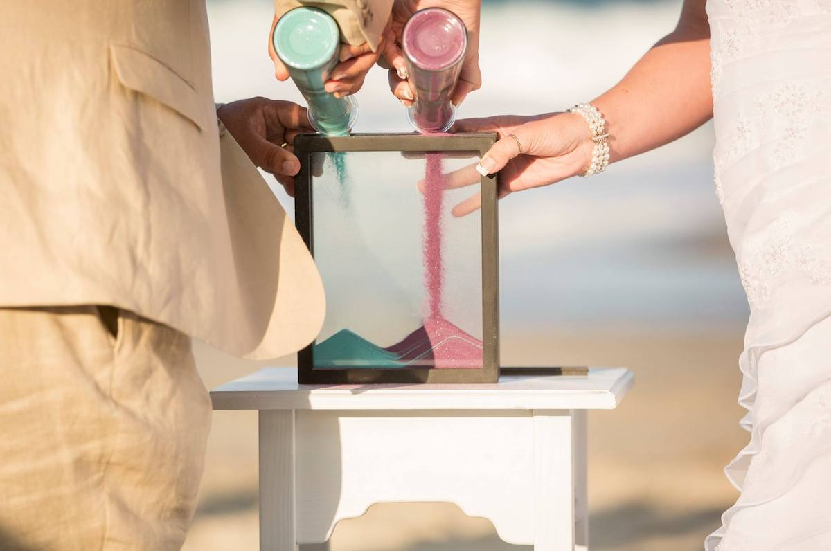outer-banks-wedding-ceremony-sand-ceremony