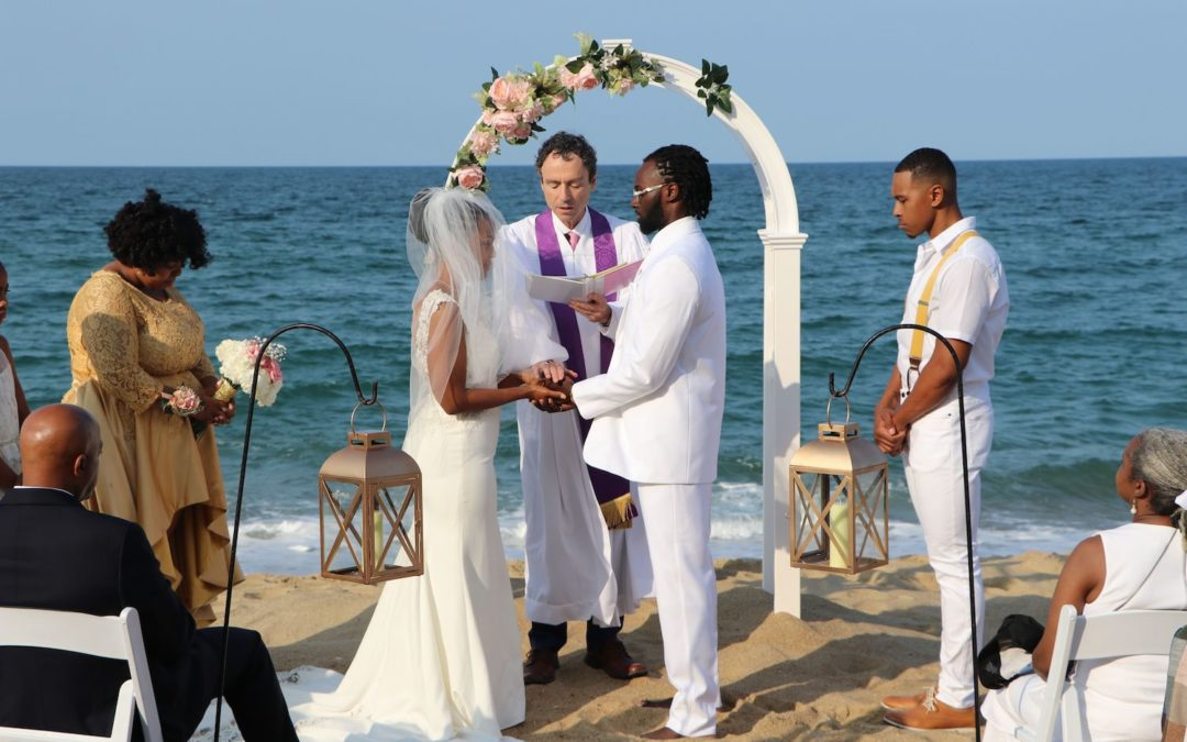 Outer Banks Wedding Ceremony