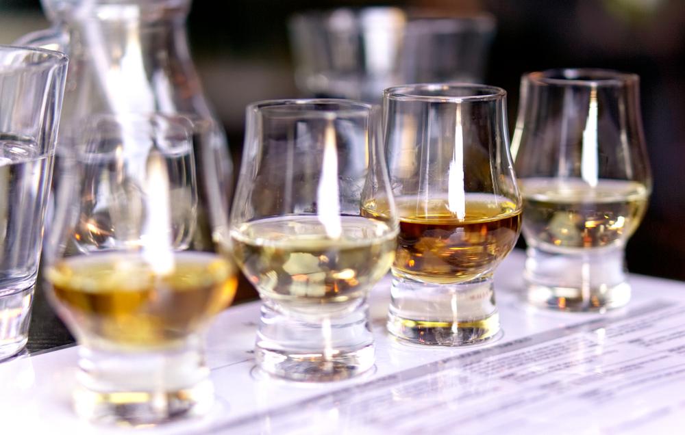 North Carolina Distilleries Tasting